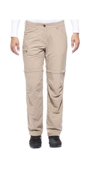 VAUDE Women's Farley ZO Pants IV short muddy